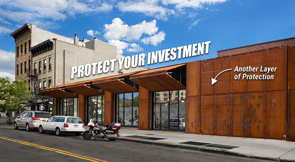 Schweiss 'Protect your Investment' Security Doors